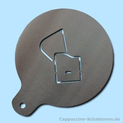Strandkorb skizze  Cappuccino-Schablone: Strandkorb