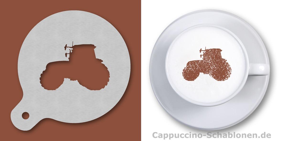 Cappuccino Schablonen T