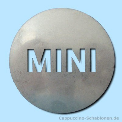 "Dekoschablone ""MINI"""